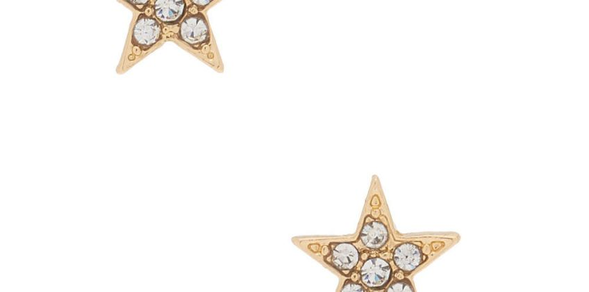 Go to Product: 18kt Gold Plated Star Stud Earrings from Claires
