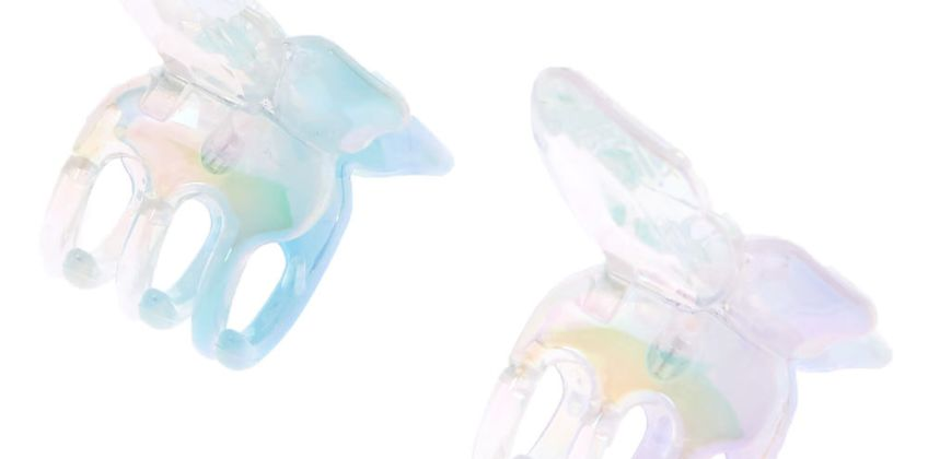 Go to Product: Iridescent Mini Butterfly Hair Claws - 2 Pack from Claires