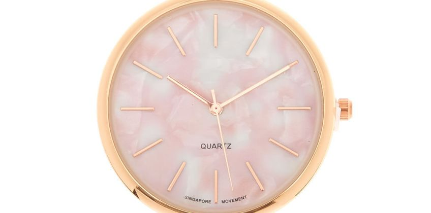 Go to Product: Marble Classic Watch - Pink from Claires