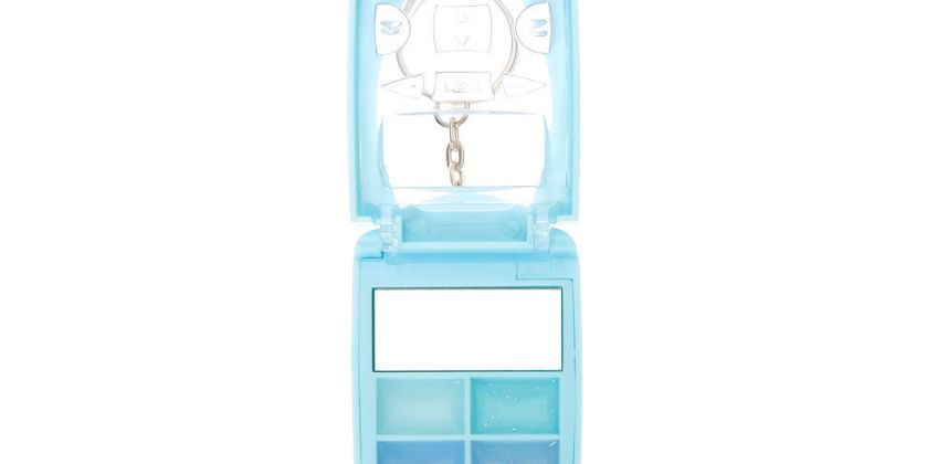 Go to Product: Snowflake Bling Flip Phone Lip Gloss Set - Blue from Claires