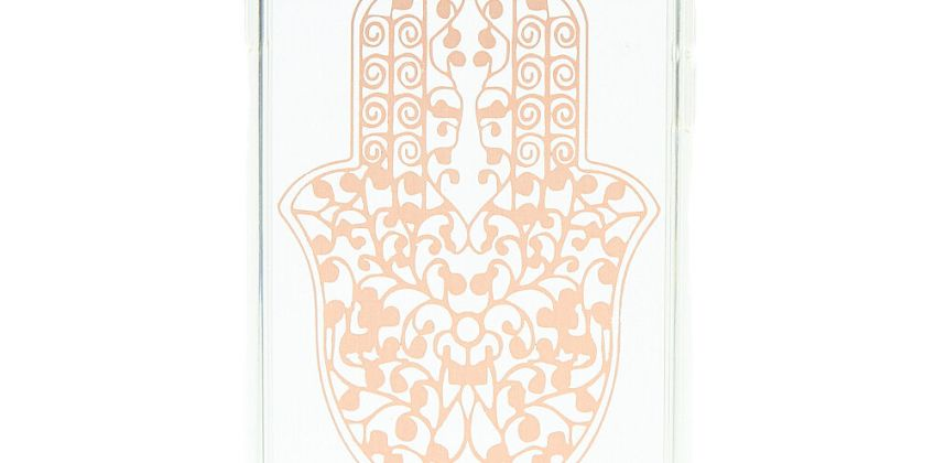 Go to Product: Gold Hamsa Hand Phone Case - Fits iPhone 6/7/8 Plus from Claires