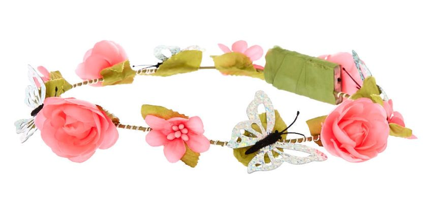 Go to Product: Light Up Butterfly Flower Crown Headwrap - Hot Pink from Claires