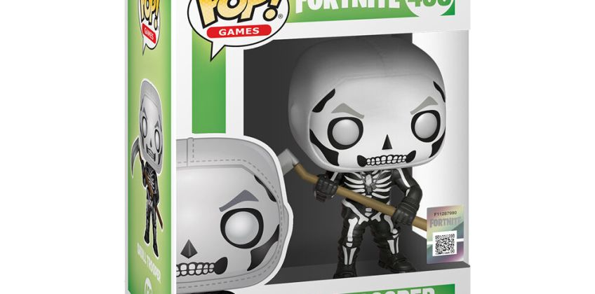 Go to Product: Fortnite Skull Trooper Vinyl Figure - Black from Claires