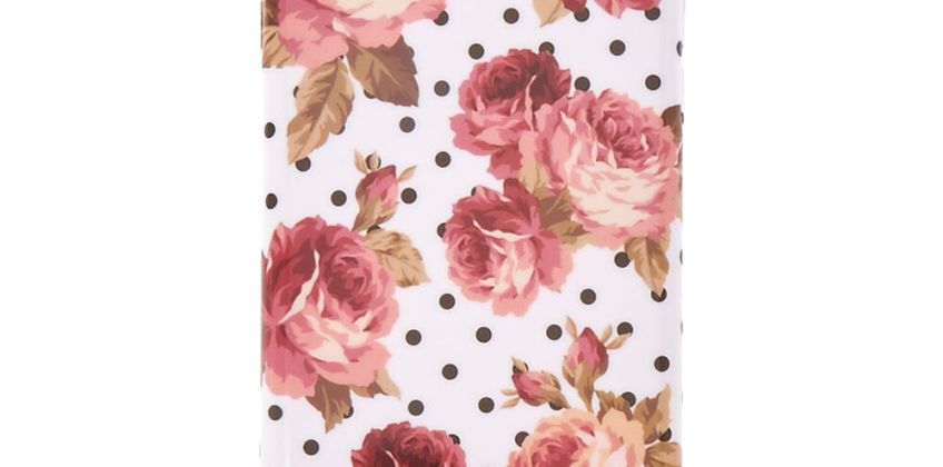 Go to Product: Floral & Polka Dot Phone Case - Fits iPhone 5/5S from Claires