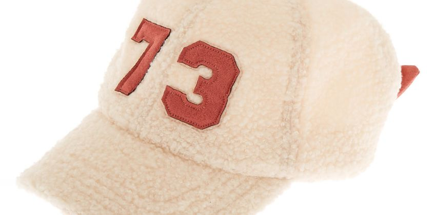 Go to Product: Sherpa Varsity Baseball Cap - Ivory from Claires