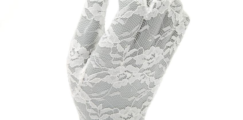 Go to Product: Claire's Club Flower Girl Lace Gloves from Claires