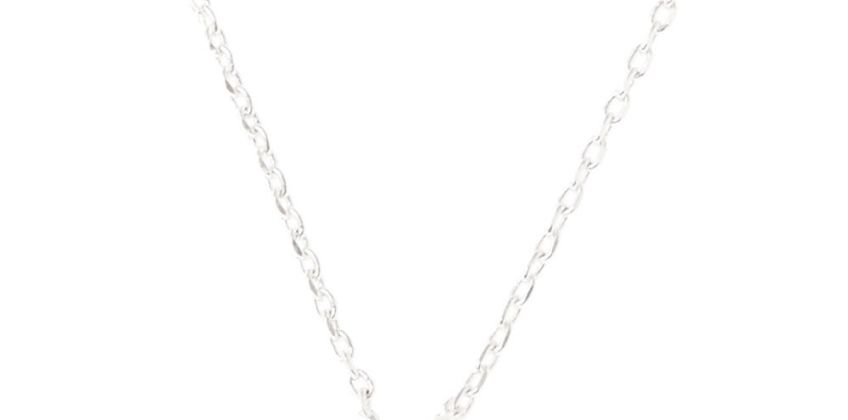 Go to Product: Silver Embellished Initial Pendant Necklace - Q from Claires