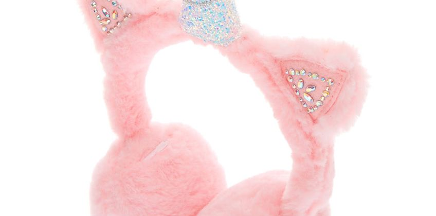 Go to Product: Embellished Unicorn Soft Ear Muffs - Pink from Claires
