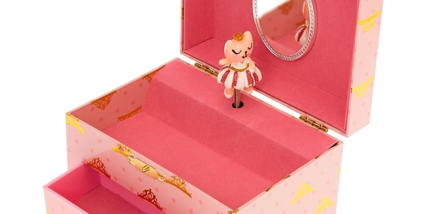 Go to Product: Claire's Club Ballerina Jewellery Box - Pink from Claires