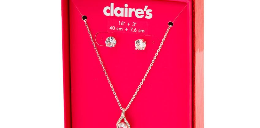 Go to Product: Silver Cubic Zirconia Infinity Jewellery Gift Set - 2 Pack from Claires