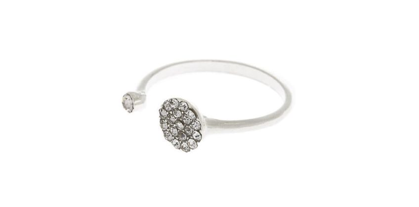 Go to Product: Silver Round Cuff Ring from Claires