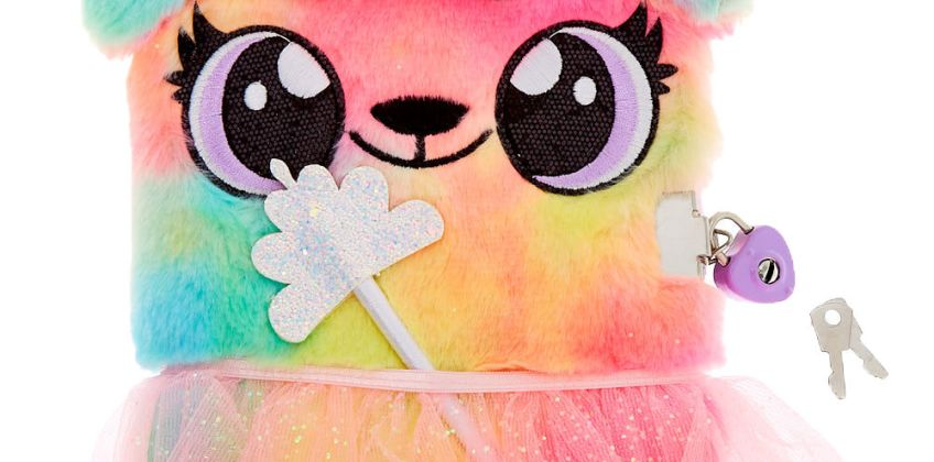 Go to Product: Alexa the Puppy Dress Up Plush Lock Diary from Claires