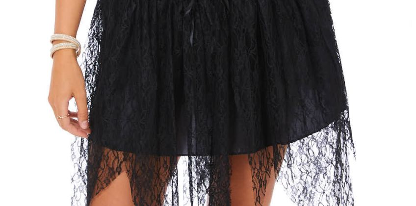 Go to Product: Witch Lace Up Tutu - Black from Claires