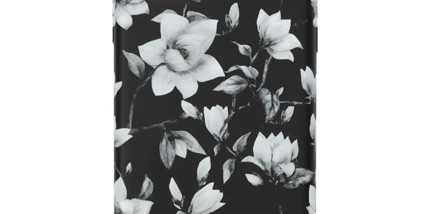 Go to Product: Black & White Floral Phone Case - Fits iPhone 11 from Claires