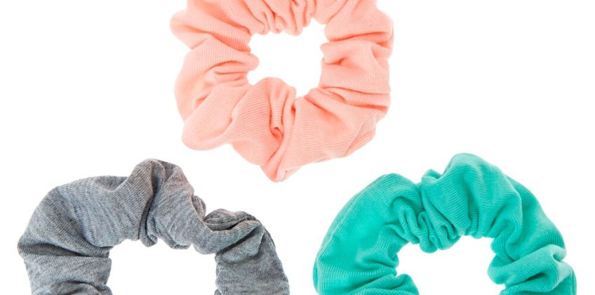 Go to Product: Small Pastel Spring Hair Scrunchies - 3 Pack from Claires