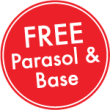 Free Parasol and Base