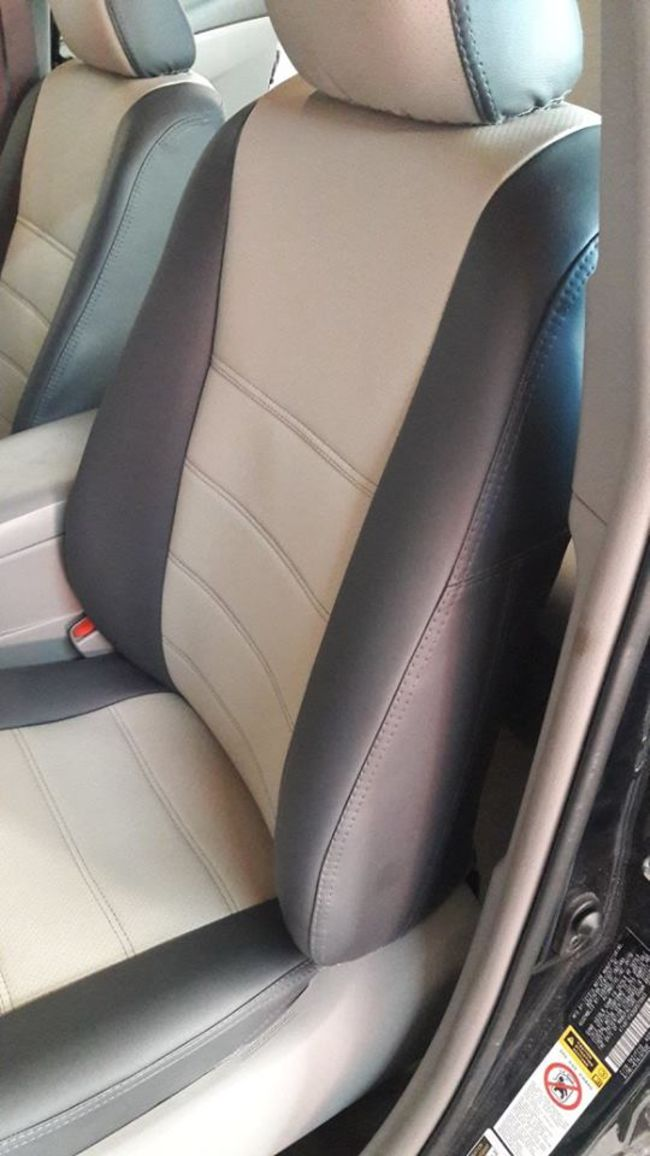 Toyota Camry 55 driver's seat