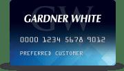 Gardner-White Credit Card