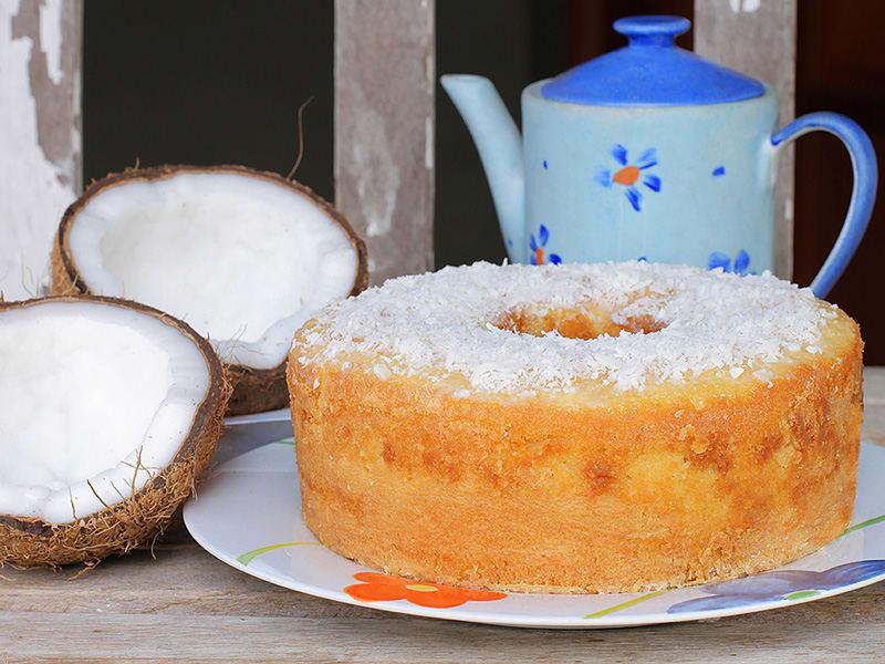 Imagem de destaque do post Dica de receita de bolo low carb de coco de caneca