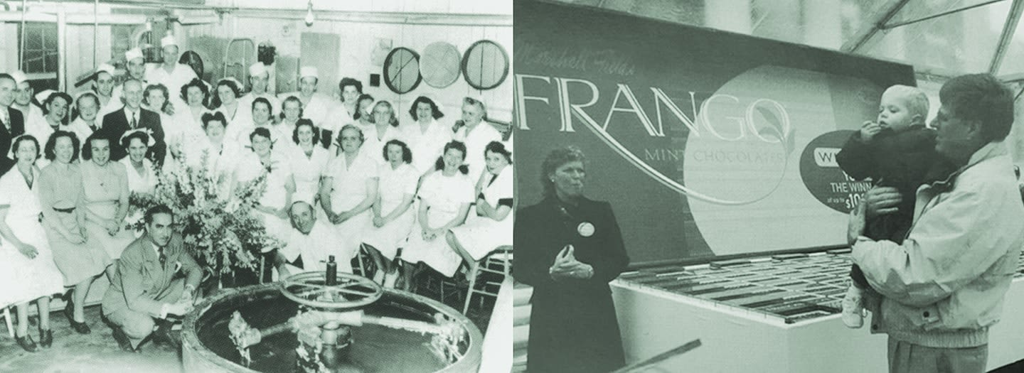 Awe Inspiring Frango Chocolates History Of Our Chocolate Interior Design Ideas Helimdqseriescom