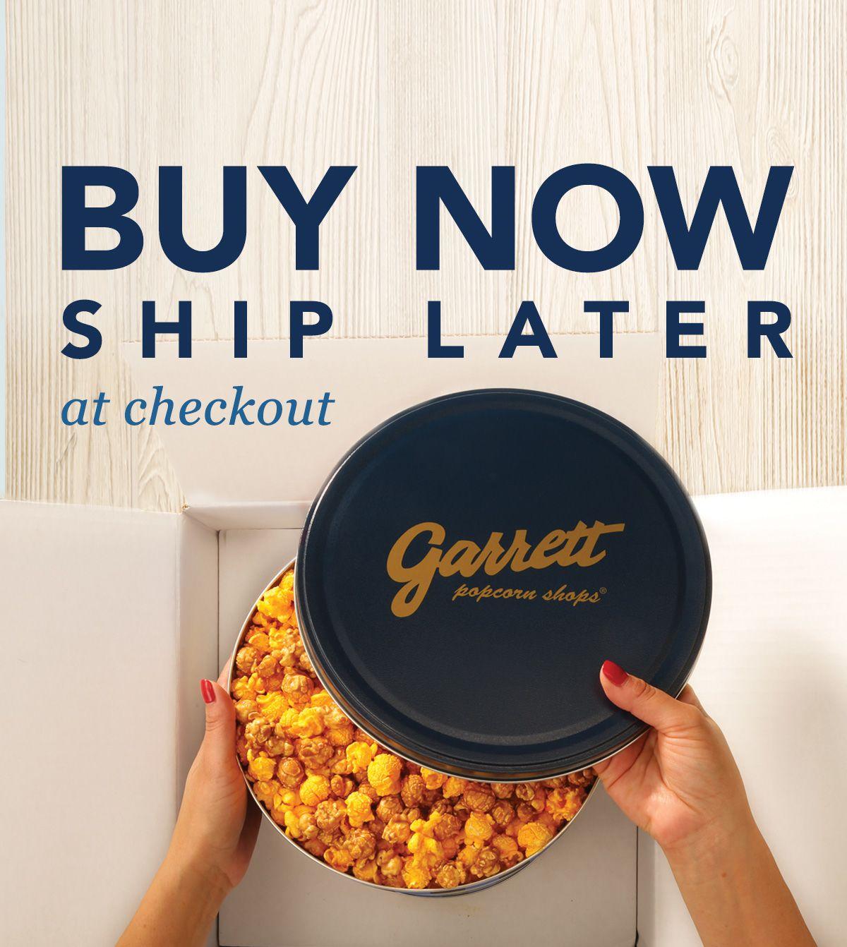 garrett popcorn coupon shipping