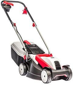 Elektro-Rasenmäher 3.22 Classic, 32 cm Schnittbreite, 1.000 W Motorleistung, für Rasenflächen bis 250 m², Schnitthöhe 3-fach verstellbar, inkl. 30 Fangkorb mit Füllstandsanzeige