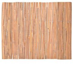 Garten Bambusmatte Sichtschutzmatte Bambuszaun 100 x 400 cm