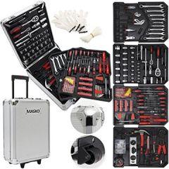 Werkzeugkoffer Werkzeugkasten Werkzeugkiste Trolley Profi Teile Qualitätswerkzeug