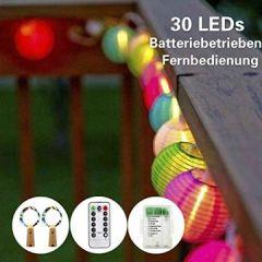 LED Laterne Batteriebetrieben