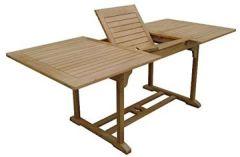 Dundee Gartentisch 150-200x90cm mit Auszugfunktion Holztisch Eukalyptus