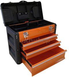 METALL Werkzeugkiste mit 7 Funktionen B3061BC von AS-S