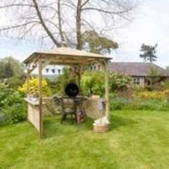 2,40cm Broxton Pavillon–Holz