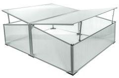 Frühbeet 100 120 40/30 cm (2 Fenster) - BFB202A
