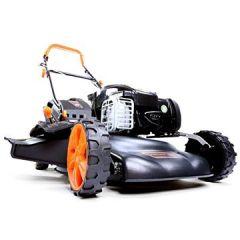 Benzin Rasenmäher FX-RM18BS mit 46 cm GT Selbstantrieb B&S Easy Clean Briggs Stratton Motormäher Mulchen