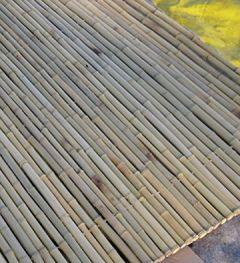 24/26 mm 183 x 244 cm Bambuszaun Sichtschuztz Rollzaun