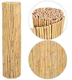 Gartenzaun Bambuszaun 300 x 150 cm