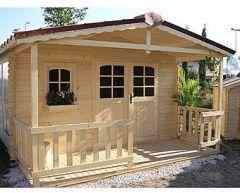 Gartenhaus Holzhaus Blockhaus Gartenausstattung Nicoleta von