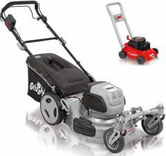 Elektro Rasenmäher Q-360, Radantrieb, Stahlgehäuse, 2 bewegliche Vorderräder, 1800 Motor, 51 cm Schnittbreite inkl. Abdeckhaube und Kindermäher