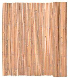 Garten Bambusmatte Sichtschutzmatte Bambuszaun 150 x 400 cm