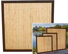 """Bambuszaun""""Koh Samui"""" mit 180 x 120cm, Bambuswand Trennwand Sichtschutzwände Bambuszäune"""