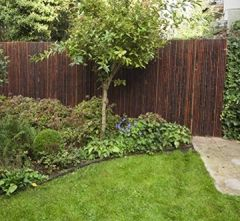 Bambuszaun Jati & Kokomo Sichtschutz Bambusmatte Gartenzaun