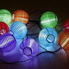 Solar 20 4,8 / 30 6 Lampions Laterne wasserfest Garten Innen- und Außenbereich warmweiß kaltweiß blau bunt für Party Weihnachten Outdoor Deko usw
