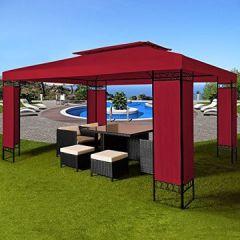 3x4m Gartenpavillon Festzelt Paryzelt Gartenzelt Eventpavillon Farbauswahl