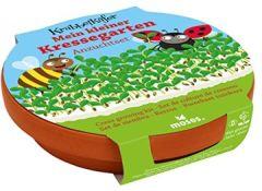 16097 Krabbelkäfer Mein Kleiner Kressegarten Anzucht-Set mit Tonschale Für Kinder