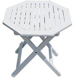 achteckiger Gartentisch aus Eukalyptusholz, ca. x cm
