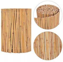Gartenzaun Bambuszaun 500 x 30 cm