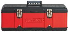 850.0345 Kunststoff-Stahlblech-Werkzeugkiste, 582x298x255mm