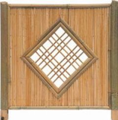 Bambuszaun Beijing Sichtschutz 180x180cm
