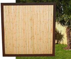 """Bambuszaun""""Koh Samui"""" mit x 120cm, Bambuswand Trennwand Sichtschutzwände Bambuszäune"""