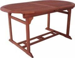 Gartentisch ausziehbar Eukalyptus FSC Holz, geölt